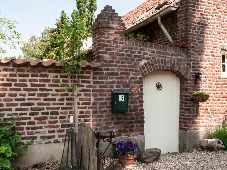 De poortdeur naar de tuin