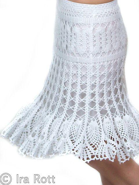 44 best Crochet Skirt images on Pinterest | Crochet skirts, Crochet ...