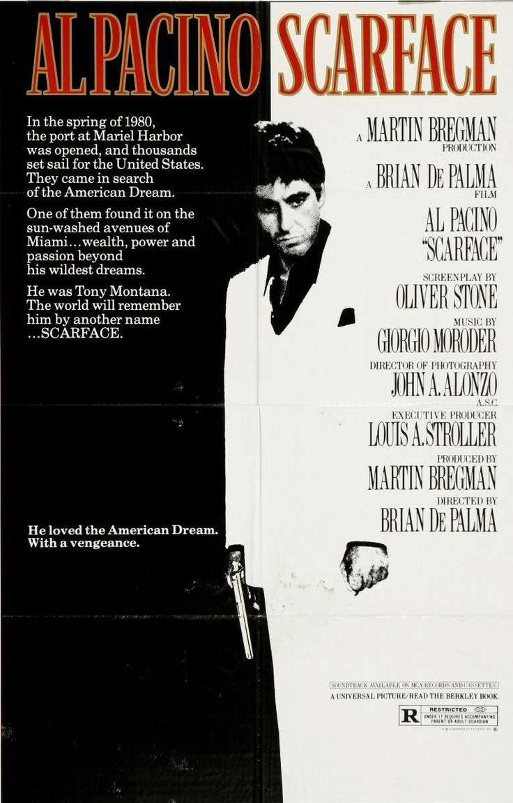 SCARFACE // usa // Brian De Palma 1983