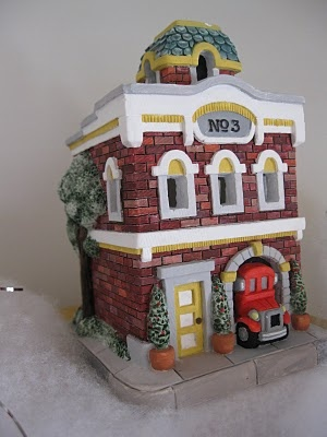 9 best handpainted christmas village images on pinterest notes from the heartland christmas village piy paint it yourself solutioingenieria Choice Image