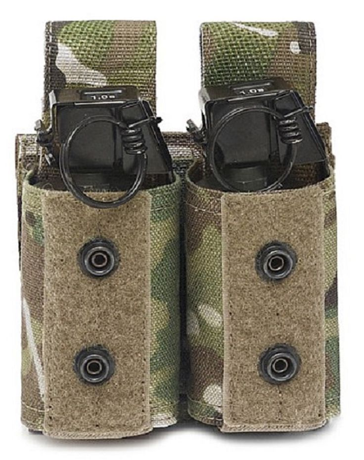 Doppel 40mm-Granatentasche WARRIOR Elite Ops Multicam