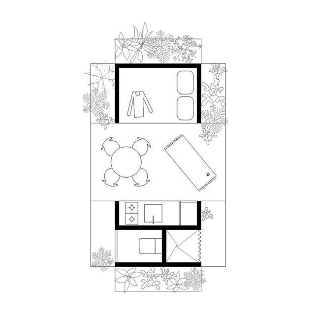 Microhouse 8m2 Micro House Small House Plans House Layouts