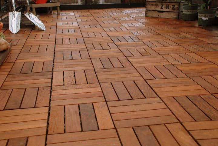 Wooden tiles my dream house pinterest tile cover up and patio