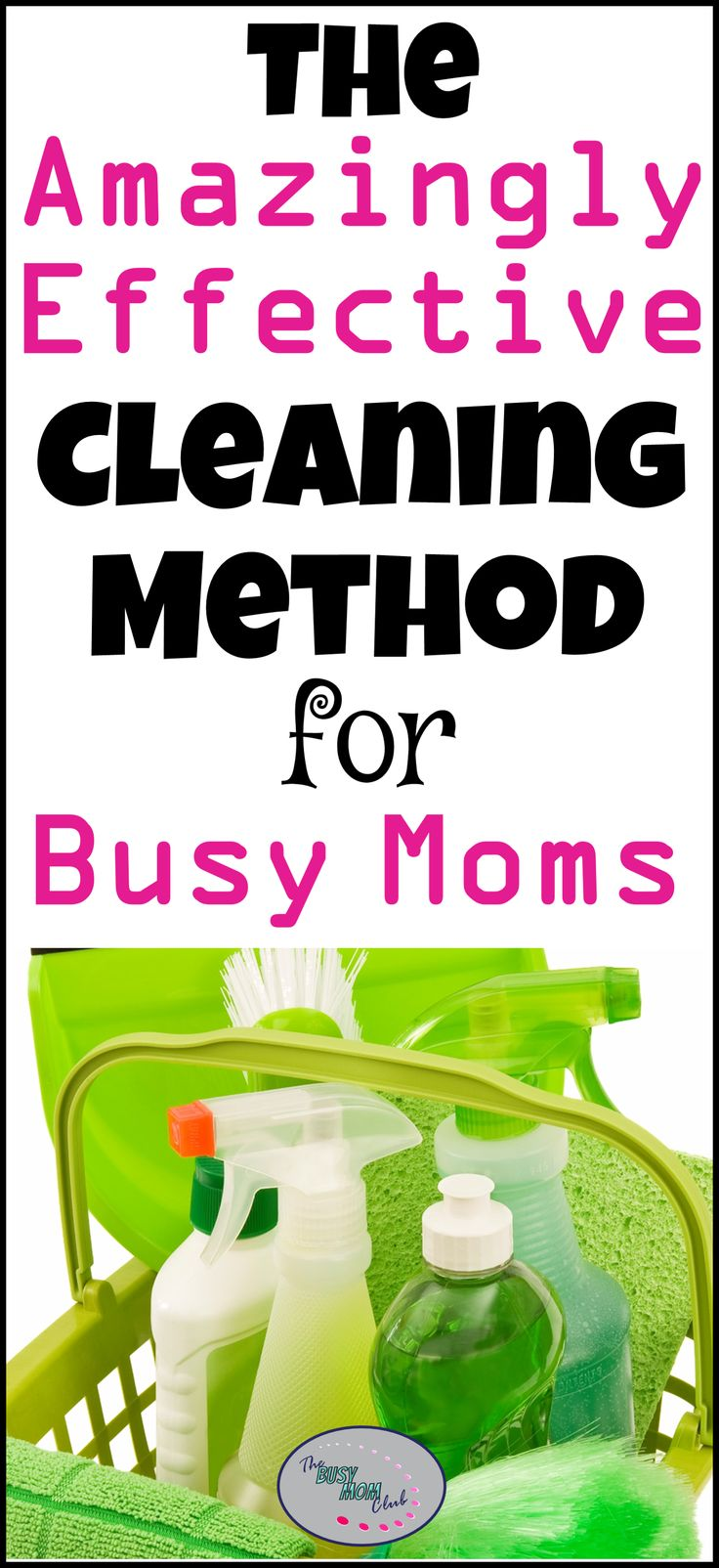 Cleaning can be overwhelming.  Make cleaning manageable by using the Burst Cleaning Method and get your house clean fast! #cleaningtips #cleanhouse #thebusymomclub #busymomtips via @suryachronister
