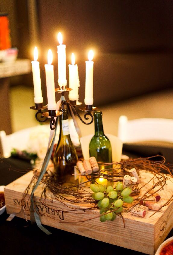 Best 25 wine themed decor ideas on pinterest for Wine themed centerpieces