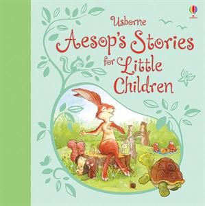 Aesop's Stories for Little Children. This charming illustrated story collection is the perfect introduction to Aesop's classic tales. Discover the antics and adventures of a boastful hair, a helpful mouse, a greedy dog and many more.