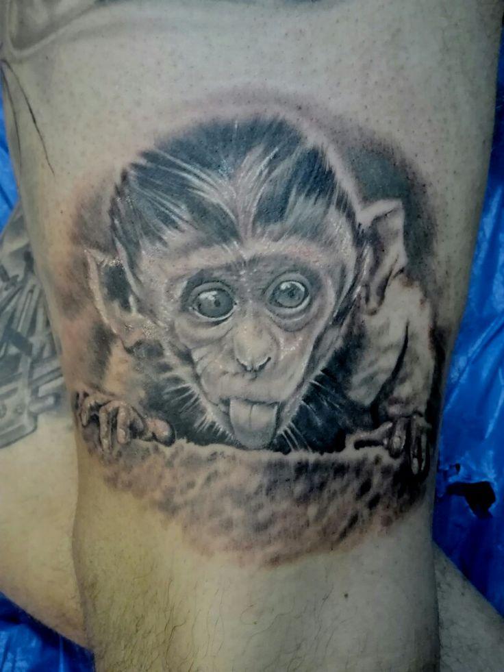 monkey tattoo ....