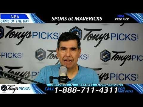 San Antonio Spurs vs. Dallas Mavericks – Free NBA Basketball Picks and P...