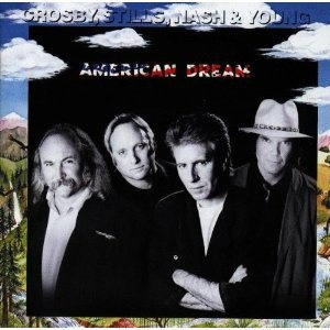 """Radio XVII, side B, track 8: """"American Dream"""" by Crosby, Stills, Nash & Young:  Oh, Crosby, Stills, Nash & Young, I didn't really know who you guys were at the time, but I knew you were old school (not that the phrase """"old school"""" was in use at this time in the world, but had you explained what """"old school"""" meant, I would have been like """"Yeah, these guys are old school"""").  After all, how many artists were putting out music where a flute was heavily featured?  Which is how awesome you guys…"""