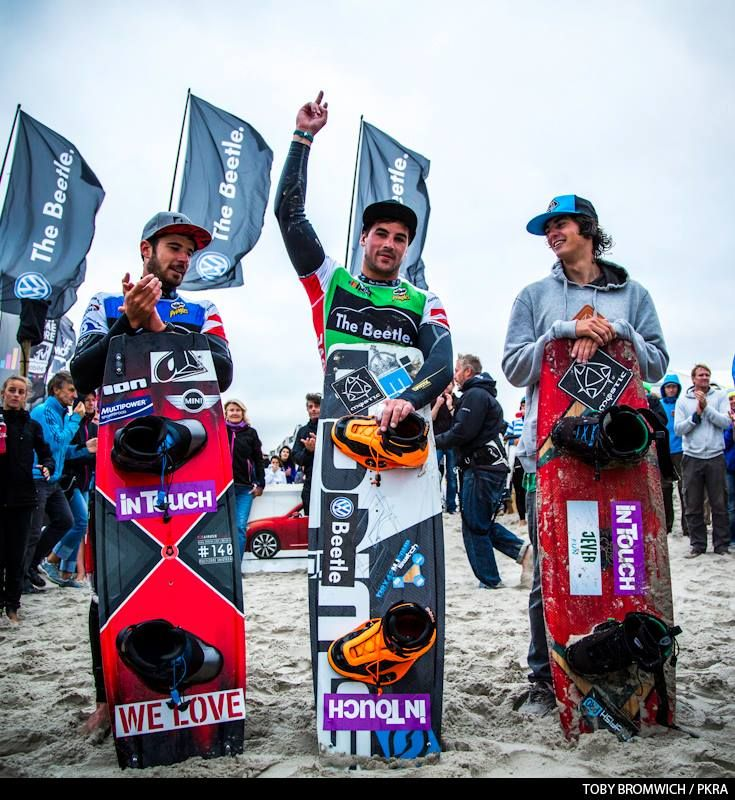 On top of the world - Marc Jacobs wins the PKRA Germany, 2. Alex Pastor 3. Christophe Tack ‪#‎pkragermany‬