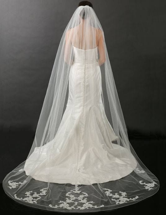 Amazing 80 Superb Iconic Wedding Veils To Go Perfectly With Your Wedding Dress. Floor  Length ...
