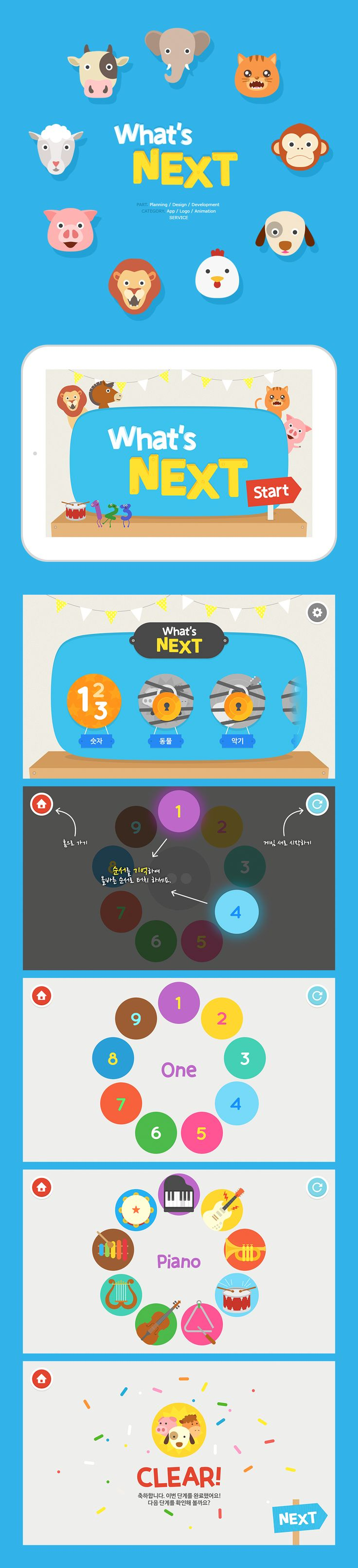 """whatsnext"" education game app"