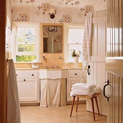 Retro Bathroom Makeovers 391 best home: bathrooms: cottage, vintage & eclectic images on