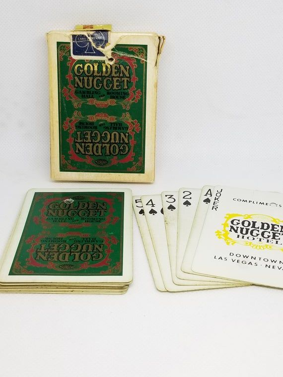 Sands Hotel /& Casino Las Vegas Blue Playing Cards Table Played Vintage