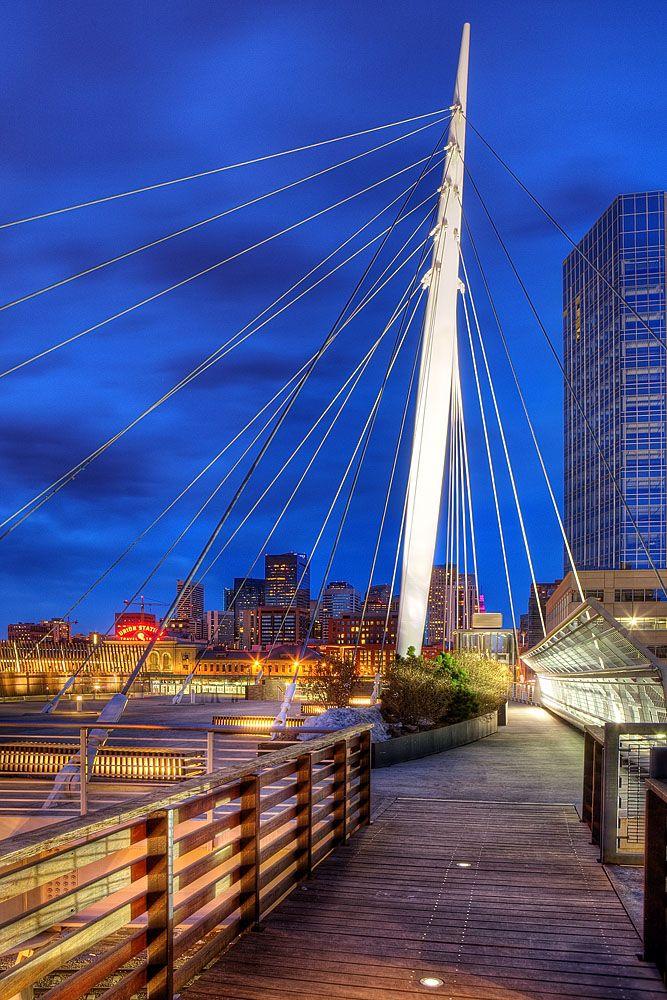 Denver's Millennium #Bridge (photo by Bobby Douglas)