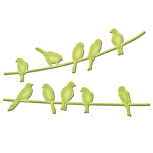 Birds On A Wire | Spellbinders