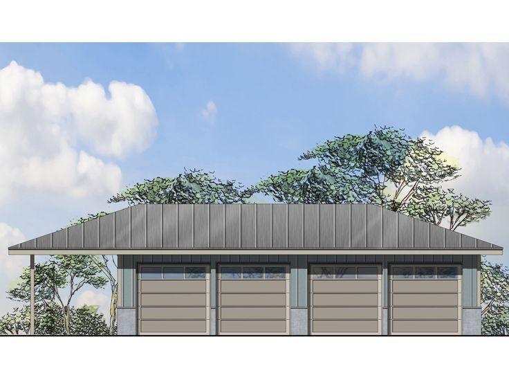 75 best 4 car garage plans images on pinterest car for Boat garage plans