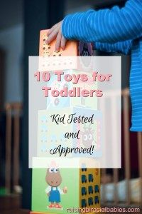 Are you looking for toys that will last a long time and keep your kids interested? This list provides toys toddlers love and will last even if you have more than one kid! Top Toys for Toddlers | toddler toys | toddler activities