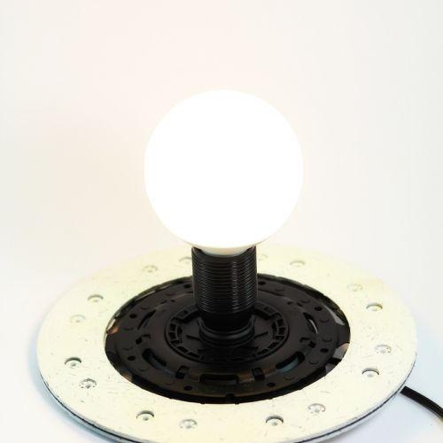 Glow in the dark clutch disk interior lamp | tablo.ro