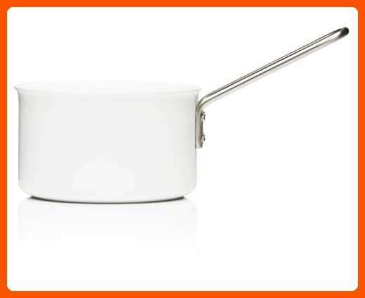 Eva Trio White Saucepan, Aluminum with Ceramic Coating, 1.8-Liter, 16cm - Kitchen gadgets (*Amazon Partner-Link)