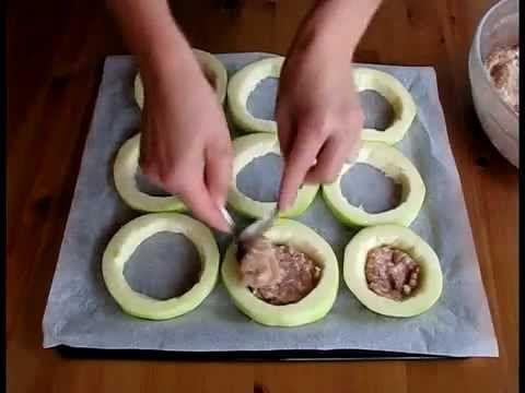 ▶ Кабачки с овощами и мясом - YouTube