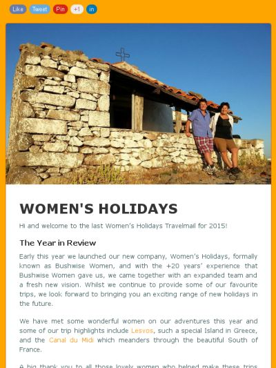 Check out this GoDaddy-powerede newsletter