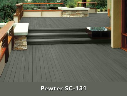 14 best images about deck on pinterest pewter stains Best black exterior wood stain