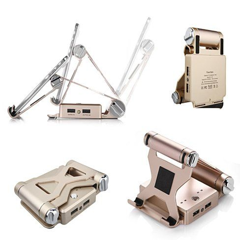 Buy Podium Style Folding Gadget Stand With Built In Power Bank by Vista Shops on OpenSky