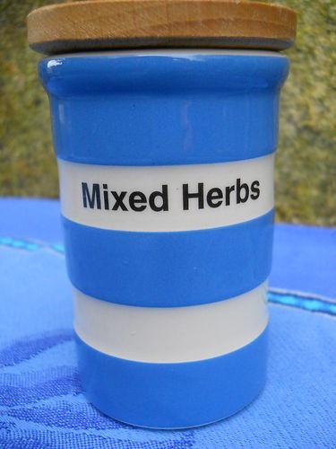 T G GREEN CORNISHWARE - ' MIXED HERBS ' JAR | eBay