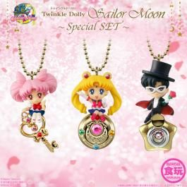Sailor Moon - Twinkle Dolly Sailor Moon Special SET (CANDY TOY)