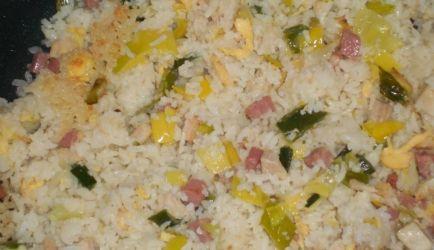 Indonesische nasi goreng speciaal