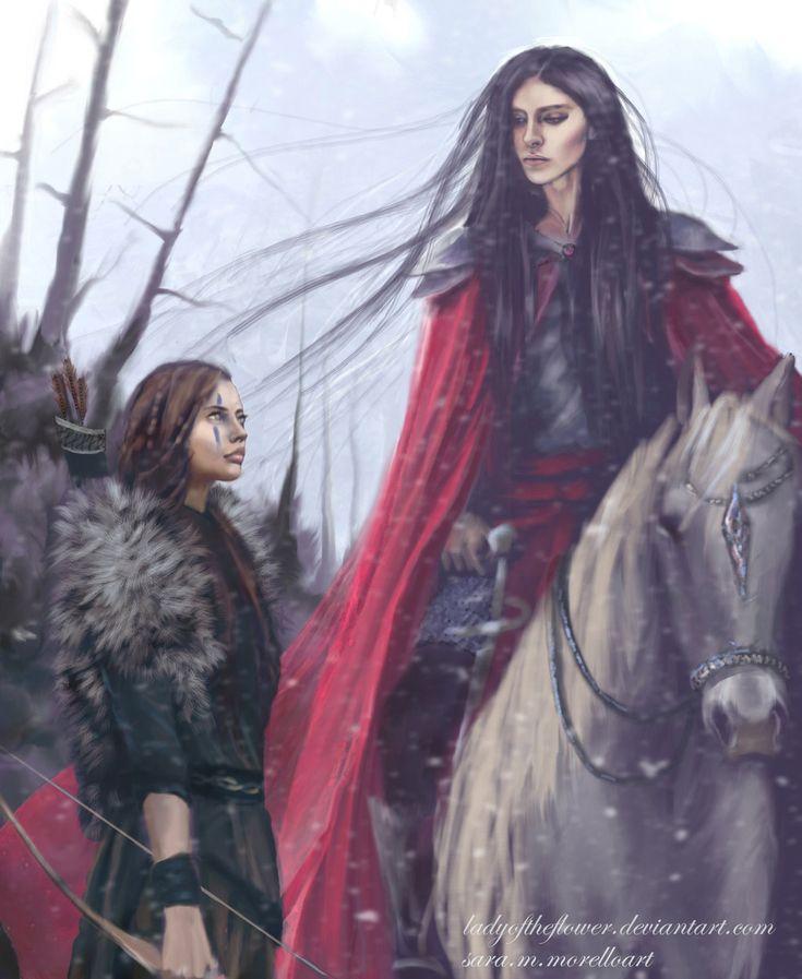 Халет и Карантир Caranthir and Haleth by Ladyoftheflower on DeviantArt