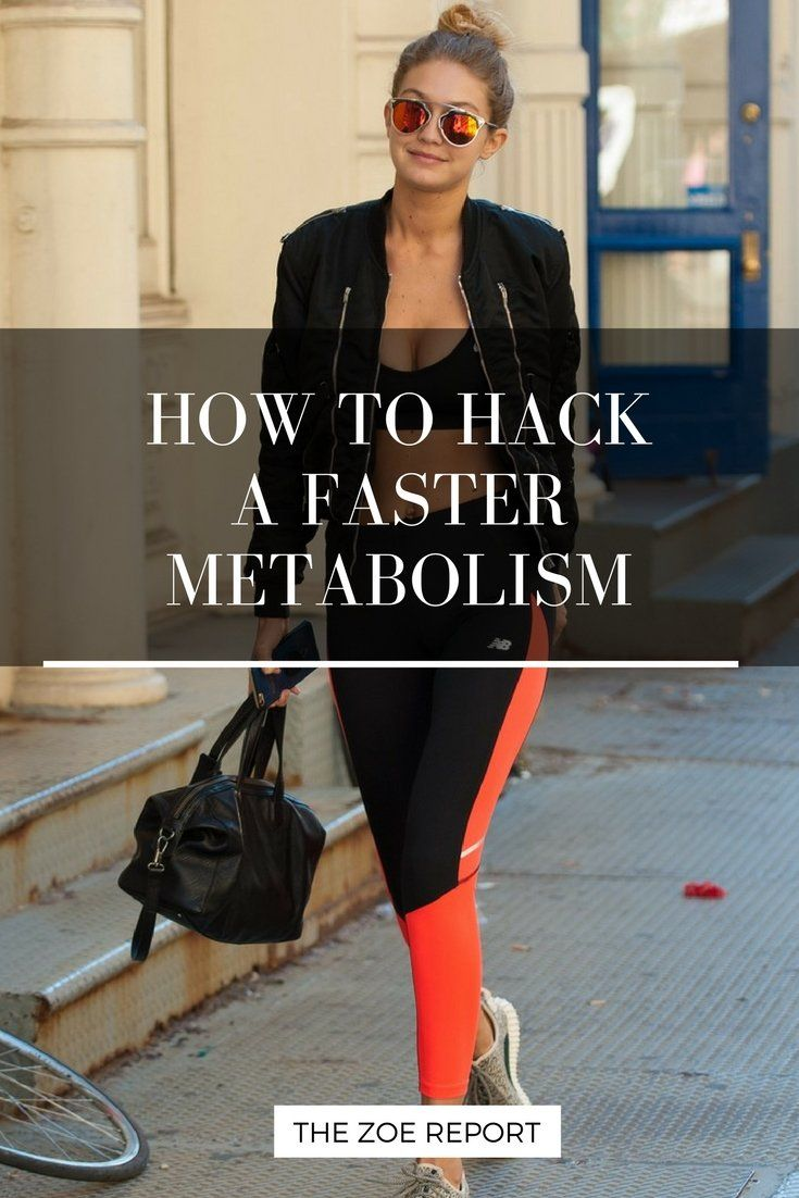 Hack a faster metabolism with these expert tips!