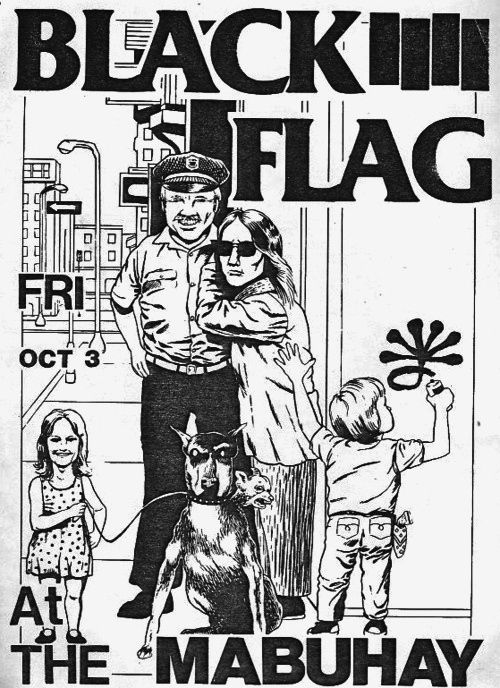 Black Flag | 35 Old Punk Flyers That Prove Punk Used To Be So Cool