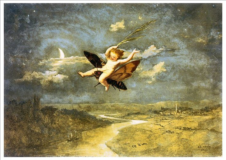 'Moon Fairies' By John George Naish