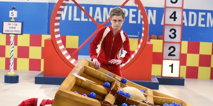 Adam & Emmy Try Out For 'Double Dare' On 'The Goldbergs' Tonight! | Hayley Orrantia, Sean Giambrone, Television, The Goldbergs | Just Jared Jr.