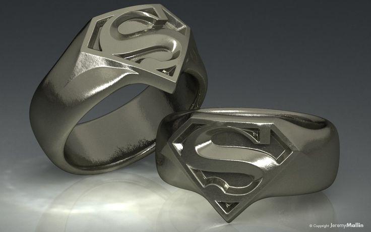 Superman Ring by ~JeremyMallin on deviantART