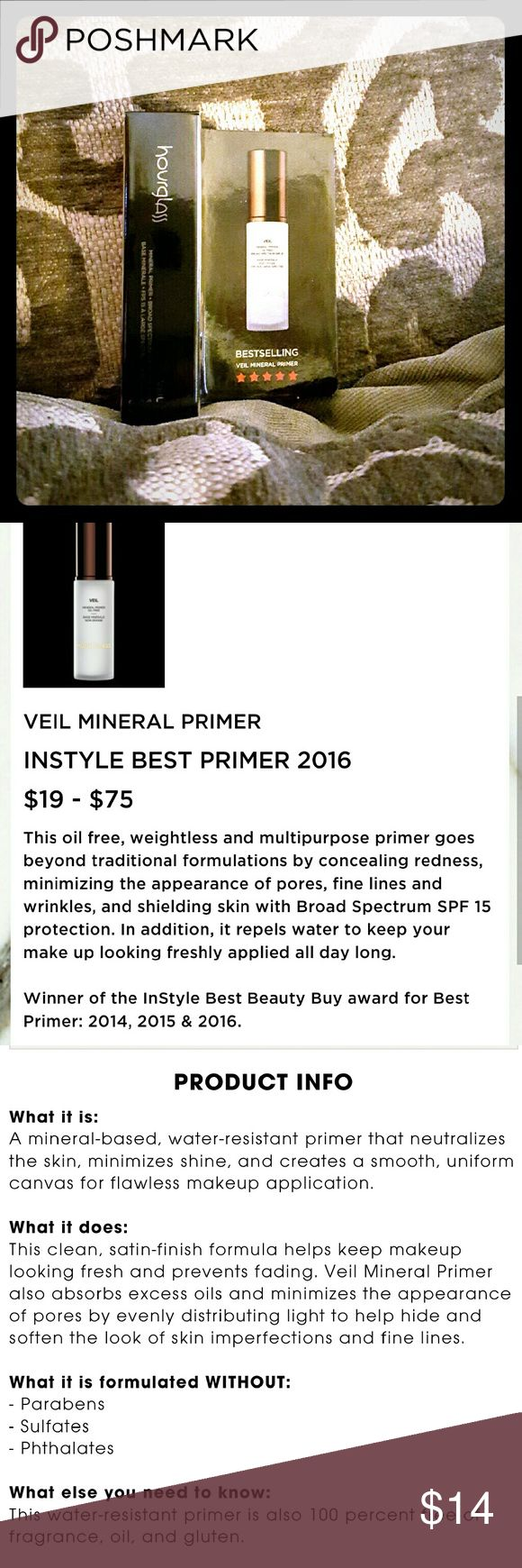 Selling this New Hourglass Travel Size Veil Mineral Primer! on Poshmark! My username is: kpotchyn. #shopmycloset #poshmark #fashion #shopping #style #forsale #hourglass #Other