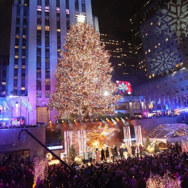 Rockefeller Center Christmas tree lighting What you don't