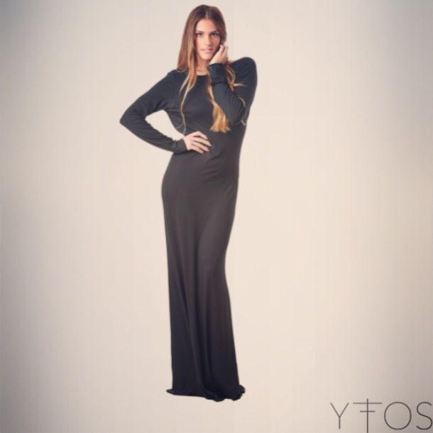 Antares maxi dress available at http://www.yfos.eu