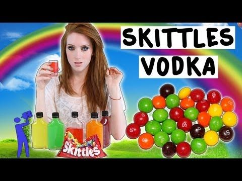 ▶ How to make Skittles Vodka! - Tipsy Bartender - YouTube