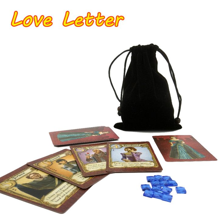 English Love Letter board game best quality 2 to 4 player game playing cards <3 Find similar products by clicking the VISIT button