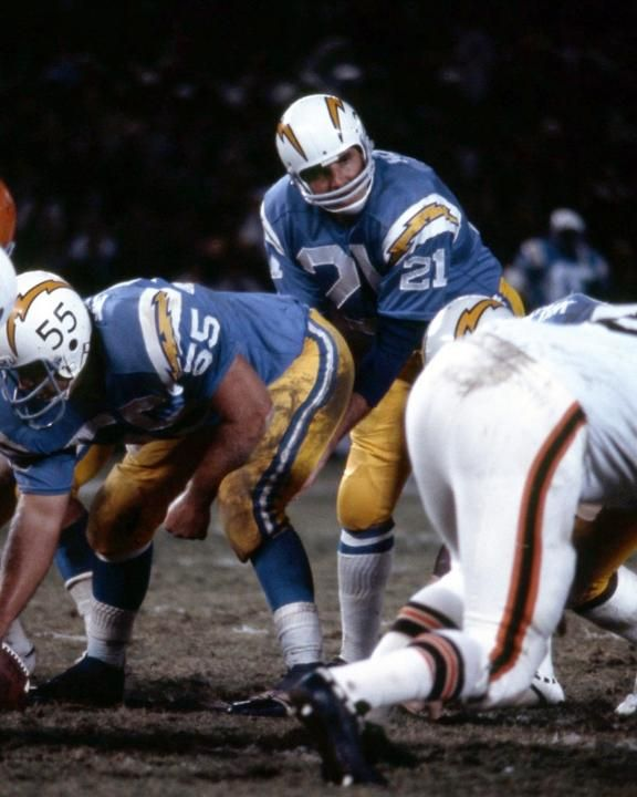 John Hadl San Diego Chargers San Diego Chargers