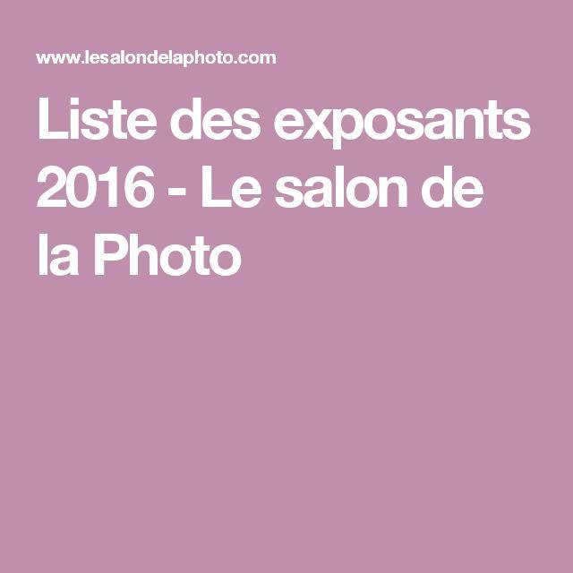 Liste des exposants 2016 - Le salon de la Photo