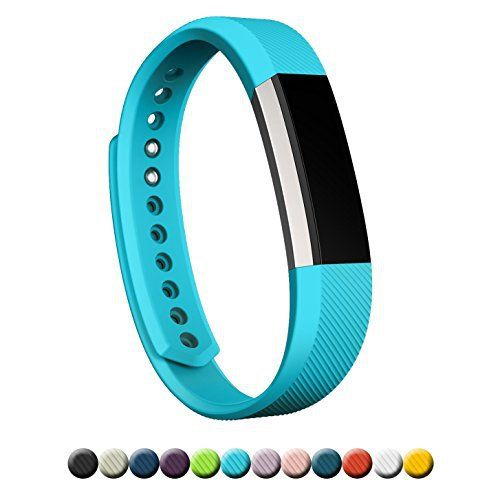 Fitbit Alta Bands, FanTEK Classic Soft Silicone Adjustable Replacement Sport Straps Band Bracelet Wristbands Accessory For Fitbit Alta Fitness Tracker, Small, Light Blue - http://www.exercisejoy.com/fitbit-alta-bands-fantek-classic-soft-silicone-adjustable-replacement-sport-straps-band-bracelet-wristbands-accessory-for-fitbit-alta-fitness-tracker-small-light-blue/fitness/