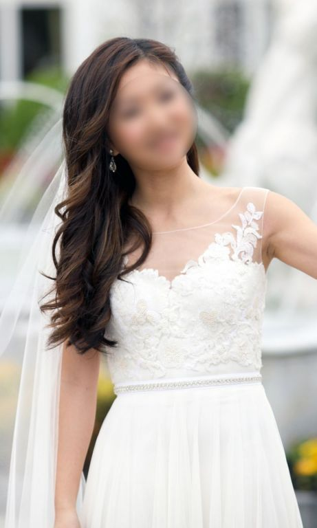 3364be582694 Watters Lucca Maxi wedding dress currently for sale at 60% off retail.