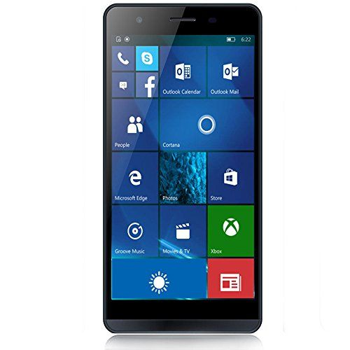 Cool moly x1 hd 5 5 unlocked 4g lte windows 10 smartphone for Window 4g mobile
