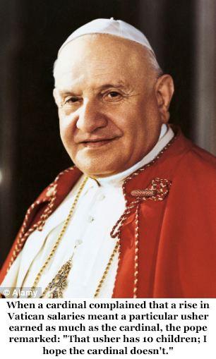 The Humor of Pope John XXIII - Imgur