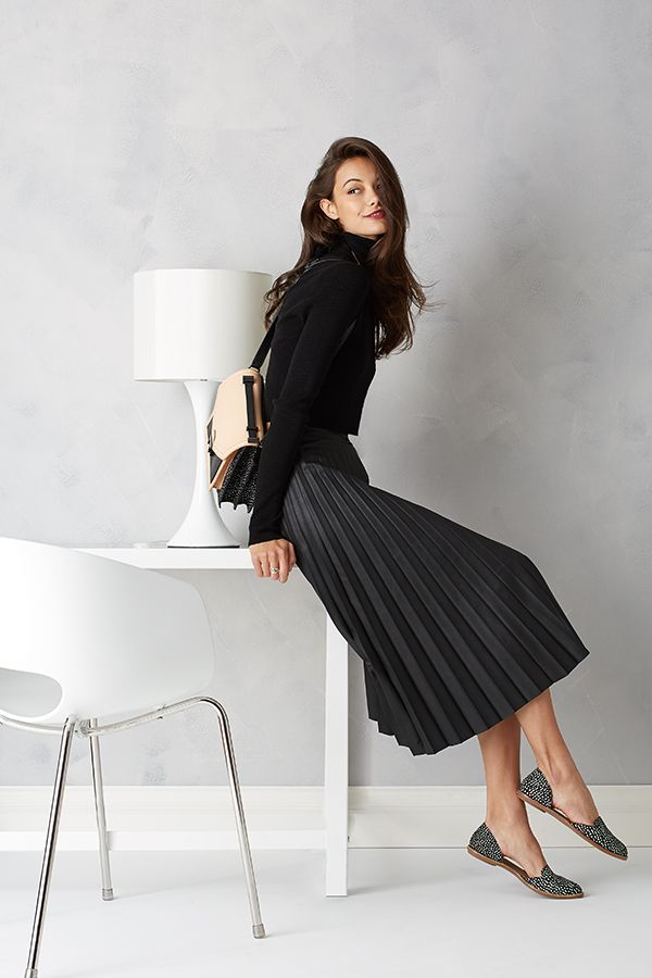 Modern chic with #ALC and #NICHOLAS. Add some fashion to your business wear.
