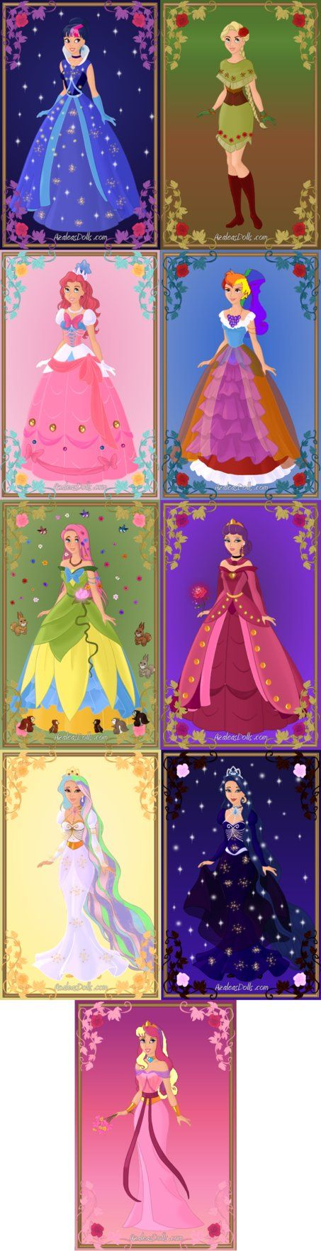 deviantART: variations Grand Galloping Gala Dresses.Cool right I really like it I'm Rainbow Dash who r u?